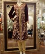 Threads And Motifs Winter Dresses 2013-2014 For Women 005