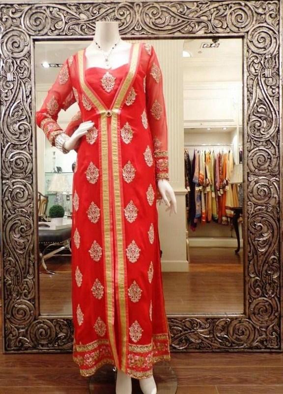 Threads And Motifs Winter Dresses 2013-2014 For Women 008