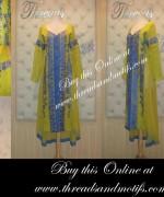 Threads And Motifs Winter Dresses 2013-2014 For Women 010