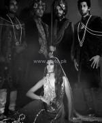 Wajahat Mansoor Groom Wear 2014 Clothes 6