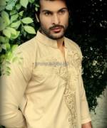 Zayn Rashid Winter Kurta Shalwar 2013-2014 For Men 4