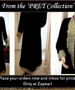 Zaywar Winter Dresses 2013-2014 For Women 001