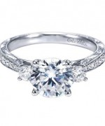Beautiful White Gold Engagement Rings013