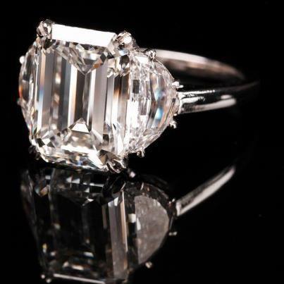 best emerald cut engagement rings style pk