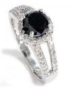Black Diamond Engagement Rings002
