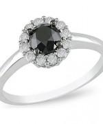 Black Diamond Engagement Rings004