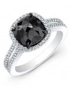 Black Diamond Engagement Rings006
