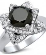 Black Diamond Engagement Rings008