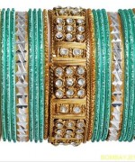 Colorful Bangles Designs 2014 For Girls 003