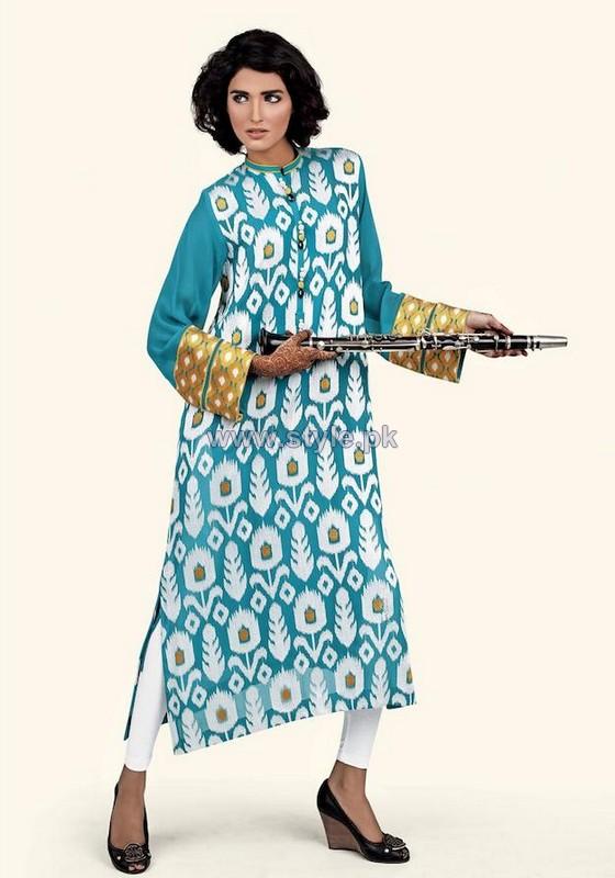 Cross Stitch Ready to Wear Dresses 2014 For Women 5