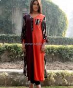 Damak Mid Winter Dresses 2014 For Girls 1