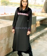 Damak Mid Winter Dresses 2014 For Girls 4