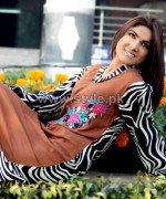 Damak Mid Winter Dresses 2014 For Women 6