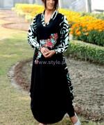 Damak Mid Winter Dresses 2014 For Women 7