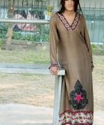 Damak Mid Winter Dresses 2014 For Women 8