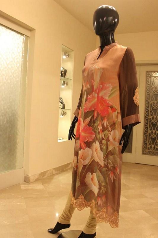 Deebaro Winter Dresses 2014 For Women 004