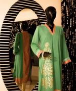 Deebaro Winter Dresses 2014 For Women 007