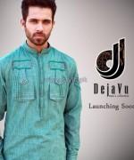 Deja Vu Kurta Shalwar Designs 2014 For Men 8