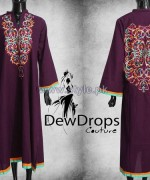 Dewdrops Couture Winter Dresses 2014 For Girls 1