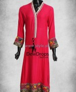 Dewdrops Couture Winter Dresses 2014 For Women 8