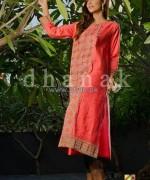 Dhanak Winter Dresses 2014 For Girls 2