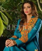 Dhanak Winter Dresses 2014 For Girls 4