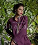 Dhanak Winter Dresses 2014 For Women 8