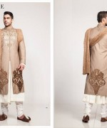 Fahad Hussayn Couture Winter Dresses 2014 For Men 004