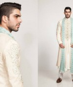Fahad Hussayn Couture Winter Dresses 2014 For Men 006