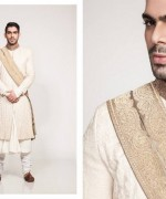 Fahad Hussayn Couture Winter Dresses 2014 For Men 05