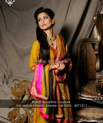 Farah and Fatima Couture Winter Dresses 2014 For Women 1