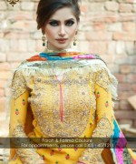 Farah and Fatima Couture Winter Dresses 2014 For Women 2