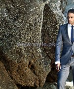 Firdous Fashion Men Suiting 2014 For Winter 6