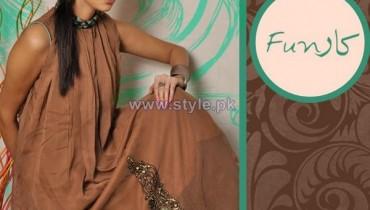 Funkaar Party Wear Dresses 2014 For Winter 2