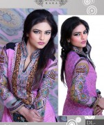 Ghani Textile Casual Dresses 2014 For Women 001