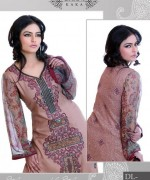Ghani Textile Casual Dresses 2014 For Women 0010