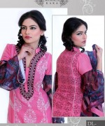 Ghani Textile Casual Dresses 2014 For Women 0012