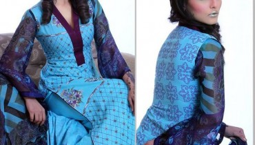 Ghani Textile Casual Dresses 2014 For Women 0014