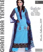 Ghani Textile Casual Dresses 2014 For Women 003