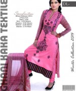 Ghani Textile Casual Dresses 2014 For Women 005