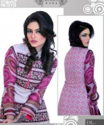 Ghani Textile Casual Dresses 2014 For Women 006