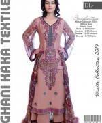 Ghani Textile Casual Dresses 2014 For Women 007