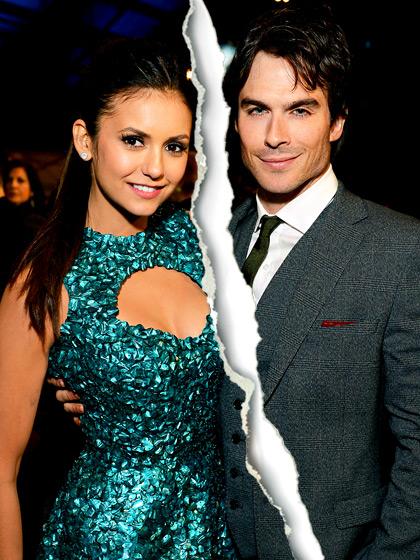 Hollywood Celebrity Splits Of 2013-Ian somerholder and Nina