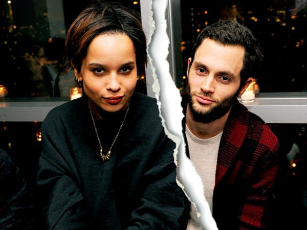 Hollywood Celebrity Splits Of 2013-Penn badgley and Zoe
