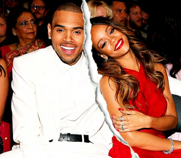 Hollywood Celebrity Splits Of 2013-Rihanna and Chris