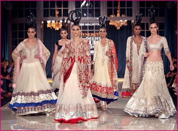 Indian Wedding Dresses 2014 For Girls  0014