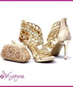 Insignia Bridal Shoes And Clutches 2014 For Women 005