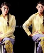 Ishtiaq Afzal Winter Dresses 2014 For Boys and Girls 6