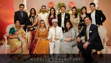 Javed Shaikh Son Shehzad Sheikh Wedding Pic 01