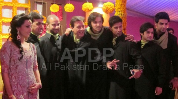 Javed Shaikh Son Shehzad Sheikh Wedding Pic 05